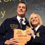 Diversified Crop Production Placement – Sam Robertson, Buckeye Central FFA