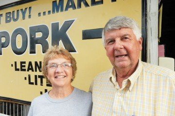 Jane and Dave Runyan have been involved with the Ohio State Fair for many years.