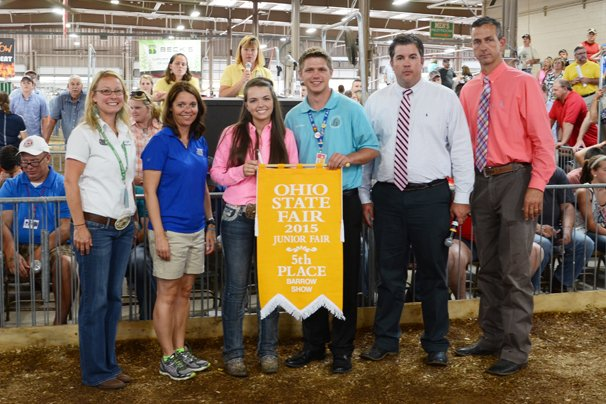 Fifth overall: Lea Kimley, with her Reserve Light Cross