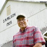 Gary Wilson helped start the first Historic Hancock County Barn Tour.