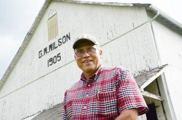 Gary Wilson helped start the first Historic Hancock County Barn Tour.