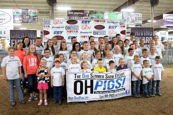 Ohio Summer Show Circuit exhibitors were recognized at the Ohio State Fair.