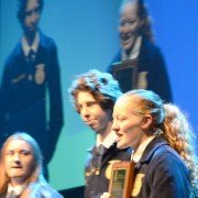 Holly Schmenk, Patrick Henry, was first place in Food Products and Processing Systems Division 1.
