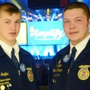 Brothers Nole and Clay Gerfen from the Ridgemont Chapter are both finalists for National Proficiency awards.