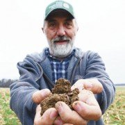 Lynn Eberhard of Seneca County has been a long time no-tiller on his Seneca County farm.