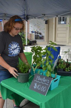 Emily Thimmes is a recipient of a National FFA Supervised Agricultural Experience Program $1,000 Grant to help further develop her herb and greenhouse business