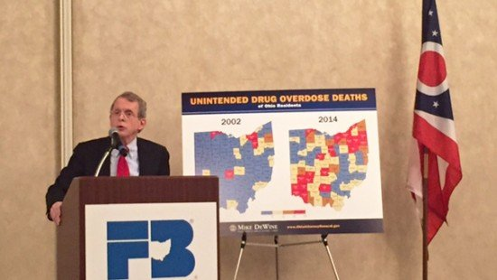 Ohio Attorney General Mike DeWine talk about the drug epidemic in rural Ohio.