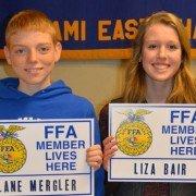 Lane Mergler and Liza Bair