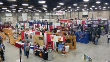 Over 140 exhibitors are on display at this year's trade show.