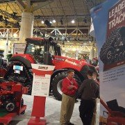 Case IH's Commodity Classic display
