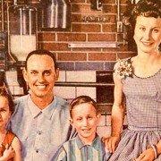 From Successful Farming magazine, August 1962, Portrait of a Successful Dairyman.  Paul, Loretta, John and Risë Wise