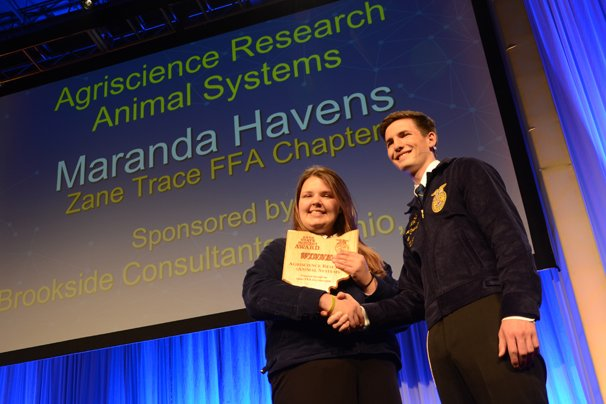 Agriscience Animal Systems Research – Maranda Havens, Zane Trace