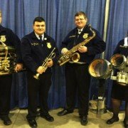 Four Miami Trace FFA members participated in Ohio FFA Band. Pictured L-R: Quinton Waits, Blake Bradshaw, Charley Milstead and Chloe Lambert.