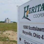 The new Heritage Cooperative Marysville Ag Campus encompasses 277 acres, which includes a grain elevator, two fertilizer warehouses and rail access.