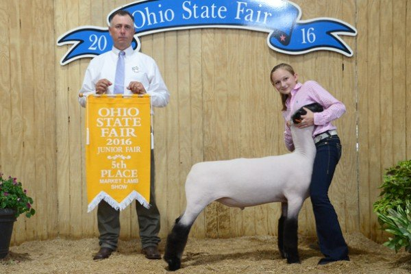 Fifth overall: Paige Pence, Clark Co. (Res. Hampshire)