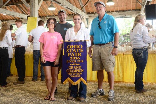 Grand Champion Market Pen: Kady Davis, Carroll County