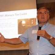 ODPA's Scott Higgins spoke on manure legislation and other efforts undertaken by the organization.