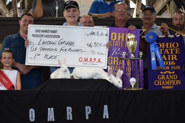 Grand Champion: Lincoln Grubb sold for $6,500 (record breaking amount)  Buyer: Direct Feed Sales- Denny Miller