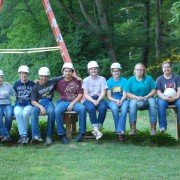 The Hiland FFA Officers and their advisor, Miss Albright, and one parent, Pam Troyer were at Camp Muskingum haveing fun at high ropes.