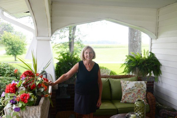 Sue Evans now owns the farm. She is the great-great-great-granddaughter of the founder Isaac Evans, Jr.