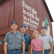 Brian, Darin, Carolyn, and Gary Skinner of Delaware County carry on the tradition of agricultural excellence and community leadership on their Ohio Century Farm.
