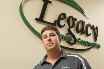 Logan Haake is the precision ag manager for Legacy Farmers Cooperative.
