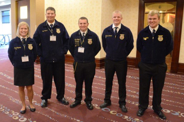 Here are some of Ohio's 2016 Proficiency finalists: Goat Production – Olivia Congrove, Zane Trace; Wildlife Production and Management – Tyler Stewart, East Clinton; Diversified Crop Production-Entrepreneurship – Brice Walker, East Clinton; Swine Production-Placement – Mitchell Kramer, New Bremen; and Agricultural Mechanics Repair and Maintenance-Entrepreneurship – Reed Aller, St. Marys.