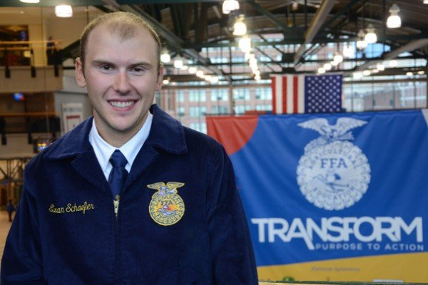 American Star Farmer Finalist Evan Schaefer from Miami Trace