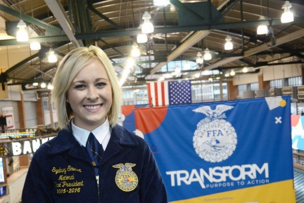 Sydney Snider is wrapping up her year as a national officer.