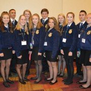 Miami East FFA attendees