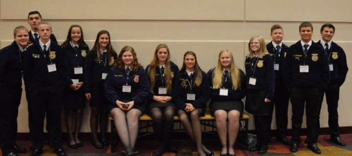 Milton Union FFA at National FFA Convention