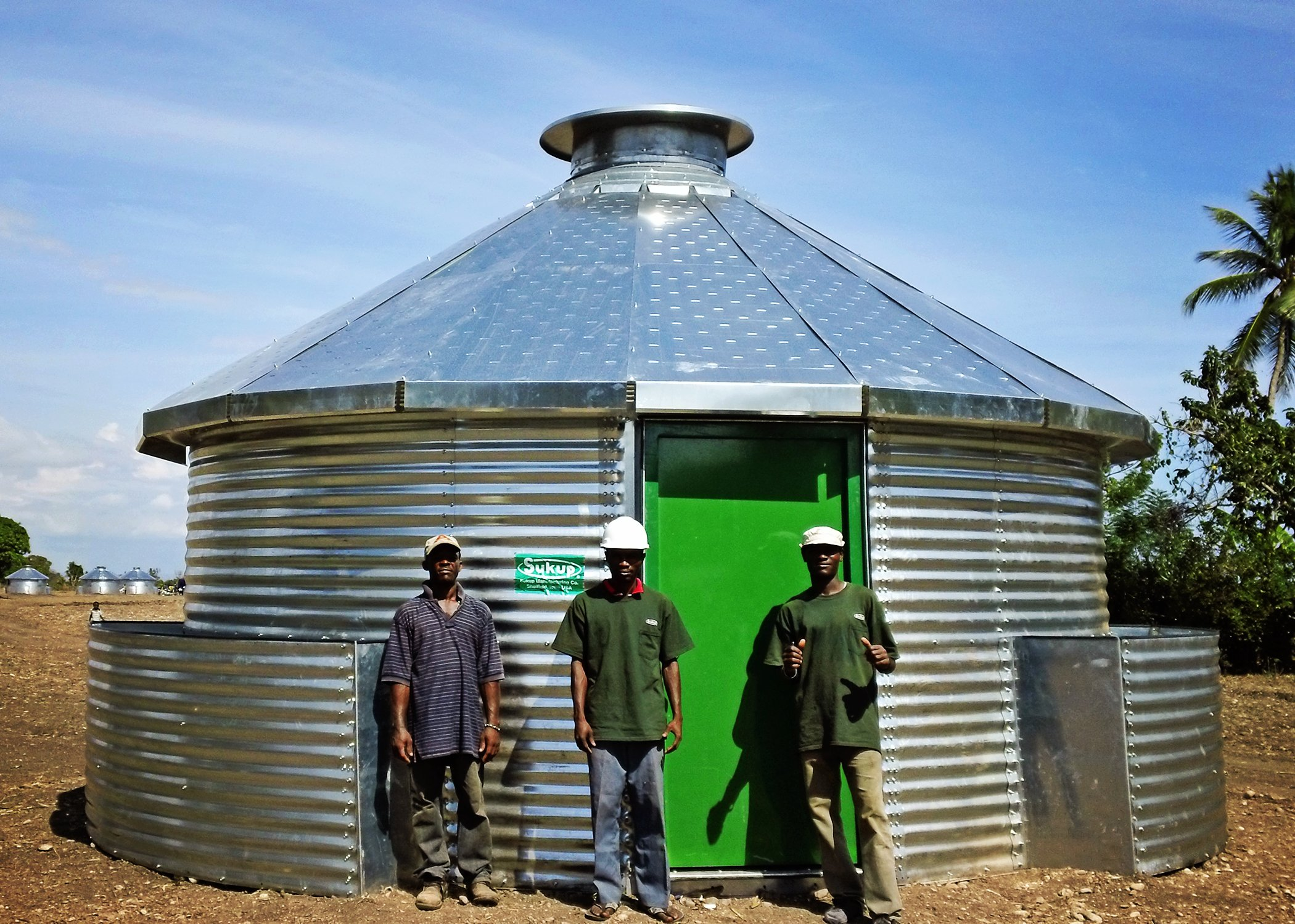 Grain bin homes saving lives in Haiti - Ohio Ag Net | Ohio ...