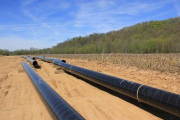 Ohio State research on natural gas pipeline installations and their impact on Ohio farmland productivity has received support from Kinder Morgan, Inc. (photo: Ken Chamberlain, CFAES)