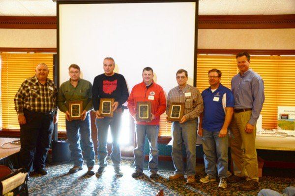 Award winners were honored including Les and Jerry Seiler from Fulton County (Outstanding No-till Farmers), Eric Niemeyer from Buckeye Soil Solutions (Agri-Business Award) and the Seneca Soil and Water Conservation District (No-Till Promoter Award).