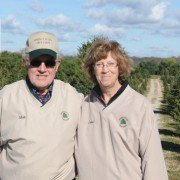 Matt and Jane Mongin started planting Christmas trees on their Spring Valley Tree Farm in Greene County in 1986.