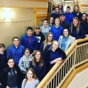 Zane Trace FFA members at leadership conference