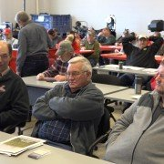 The recent Evolution Ag Plain City Customer Appreciation Day saw a notable crowd at the day's fertilizer certification training.