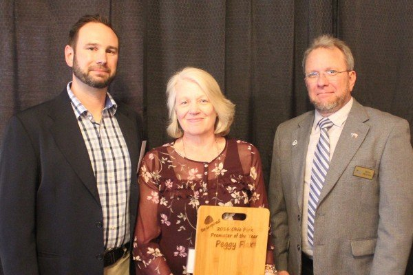 Peggy Flax of Clark County was the 2017 Pork Promoter of the Year.