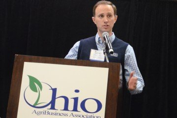 Chris Henney with the Ohio AgriBusiness Association
