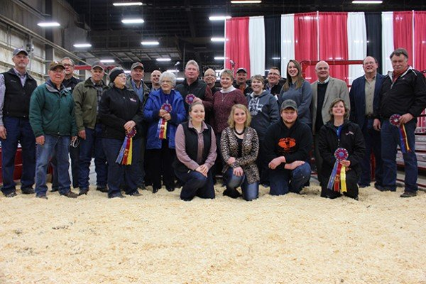 The Ohio Beef Expo recognized its 30-year exhibitors, including Ohio's Country Journal.