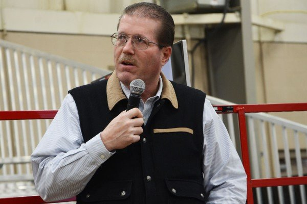John Grimes gave an overview of the Ohio cattle industry.