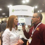 Dale interviews Tara Durbin with Farm Credit.