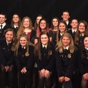 Many Anthony Wayne FFA members received awards at the banquet, which was held at Nazareth Hall.