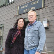 Melissa and Joe Duer are have resumed a very old family tradition that allows them to make old fashioned whiskey at the Indian Creek Distillery in Miami County.
