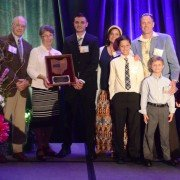 The Stoller family from Van Wert County that received the Family Legacy Award