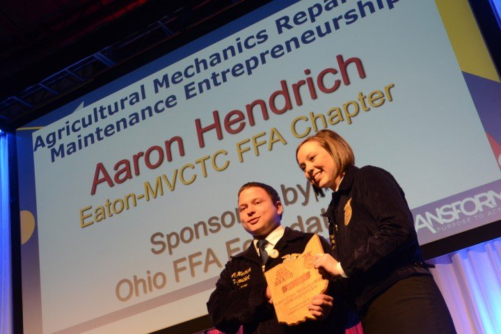 Agricultural Mechanics Repair and Maintenance Entrepreneurship Aaron Hendrich Eaton-MVCTC FFA