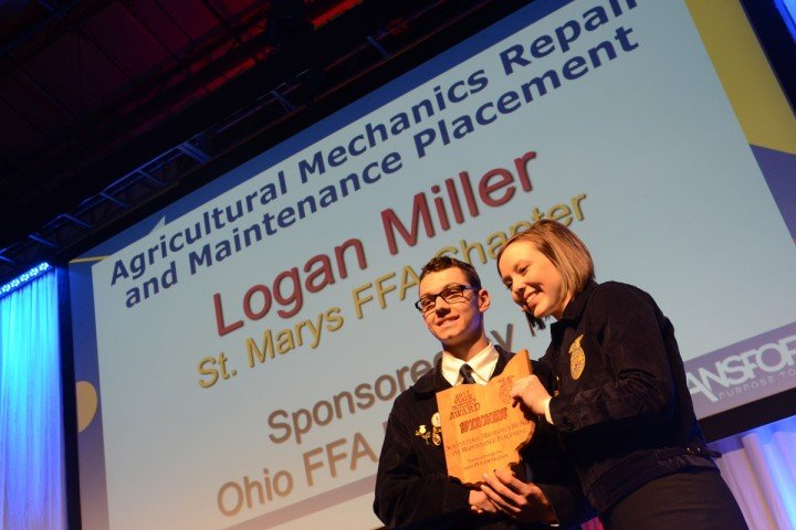 Agricultural Mechanics Repair and Maintenance Placement Logan Miller St. Marys FFA