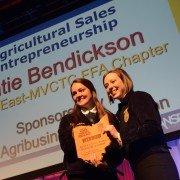 Agricultural Sales Entrepreneurship Katie Bendickson Miami East-MVCTC FFA