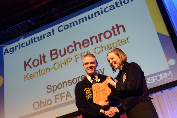 Agricultural Communications Kolt Buchenroth Kenton-OHP FFA