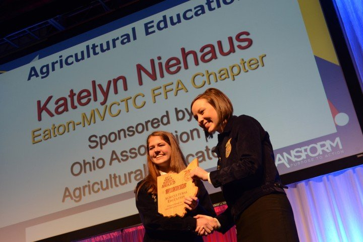 Agricultural Education Katelyn Niehaus Eaton-MVCTC FFA